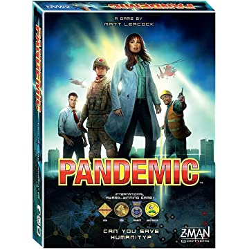 powerful Pandemic by Z-Man