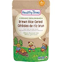 Healthy Times Organic Whole Grain Cereal, Brown Rice, 142g