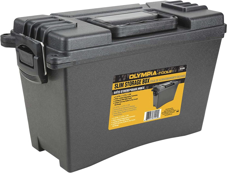 Olympia Tools Slim Storage Box, 84-404