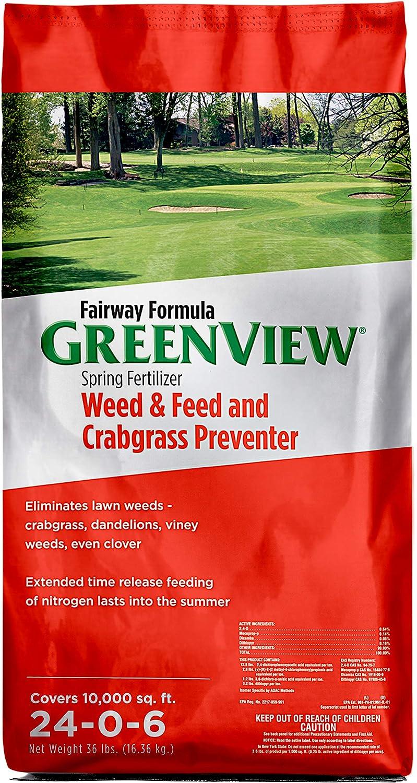 GreenView 21292668 Fairway Formula Spring Fertilizer Weed & Feed