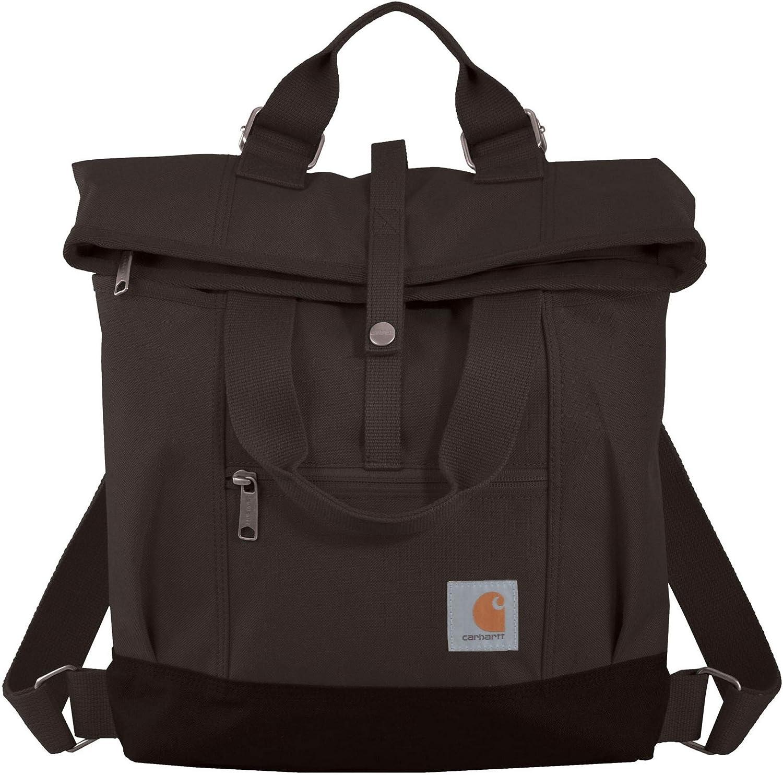 Carhartt Legacy Women's Hybrid Convertible Backpack Tote Bag, Black