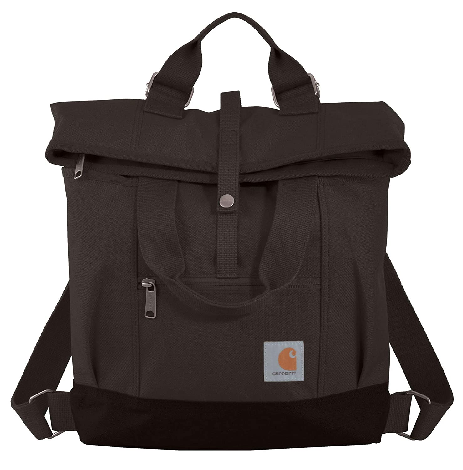 release info on colours and striking amazing selection Carhartt Legacy Women's Hybrid Convertible Backpack Tote Bag, Black