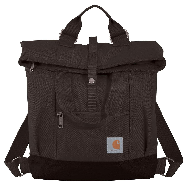 21c8f1bf9 Amazon.com: Carhartt Legacy Women's Hybrid Convertible Backpack Tote Bag,  Black: Sports & Outdoors