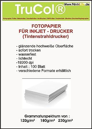 1000 hojas brillante brillante de la foto 10x15 papel 230g. El papel de la foto es perfecta para impresiones fotorrealistas y digitales con ...