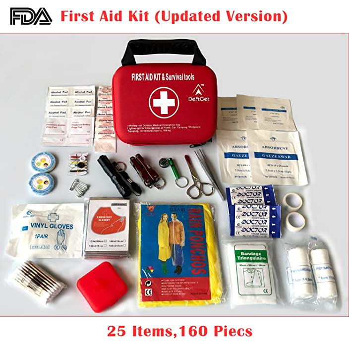 Compact First Aid Kit - Mini Survival tools box