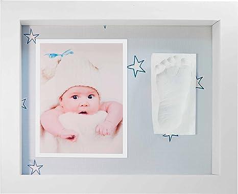 Marco de Fotos para Bebé -Marco de Huellas para Niños - Regalos ...