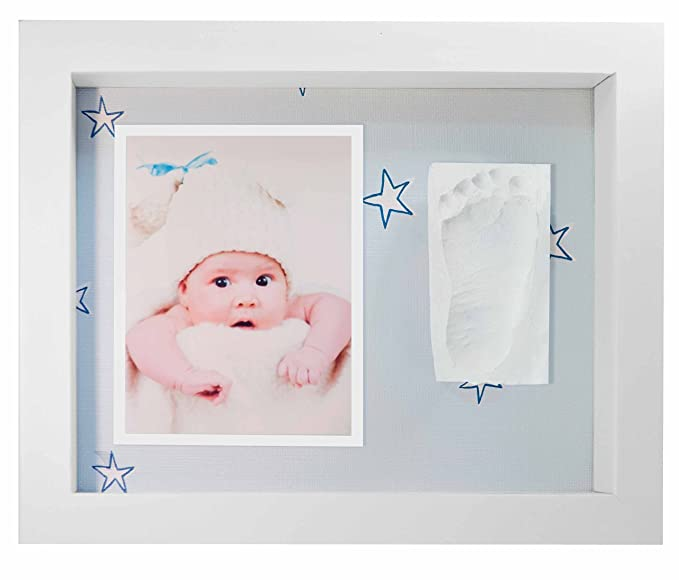 Marco de Fotos para Bebé - 3D Marco de Huellas para Niños - Regalos para Bebé Recién Nacido: Amazon.es: Bebé