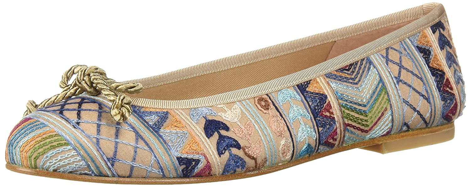 French Sole FS/NY Women's Bluebell Ballet Flat B0765JQ7R2 7.5 B(M) US|Natural