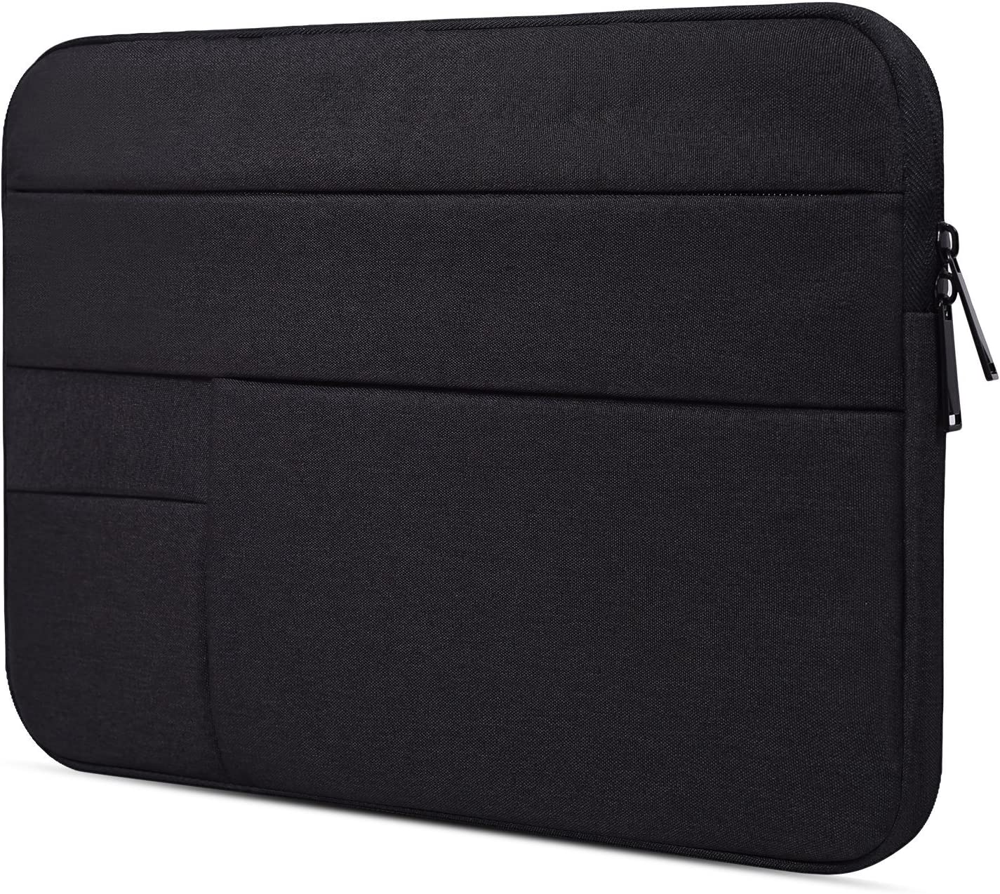 "12.3-13.3 Inch Waterproof Laptop Sleeve Case for Google Pixelbook, 12.5"" ASUS Chromebook Flip C302CA, Samsung Chromebook Plus/Pro, HP ASUS Samsung Lenovo Chromebook Tablet Bag, Black"