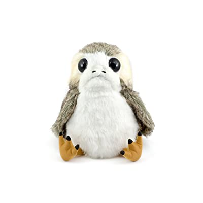The Last Jedi: Life-Sized Interactive Action Porg Plush: Toys & Games