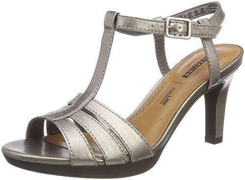 0e4f102572bf Clarks Women s s Adriel Tevis Ankle Strap Sandals  Amazon.co.uk ...