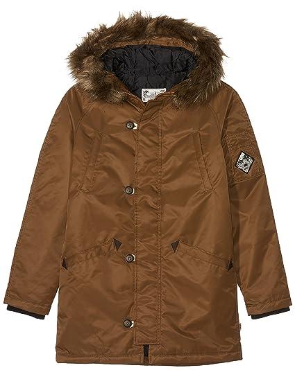 b39ad2d867 Vans Jt Hetch MTE Boys Coat  Amazon.co.uk  Clothing