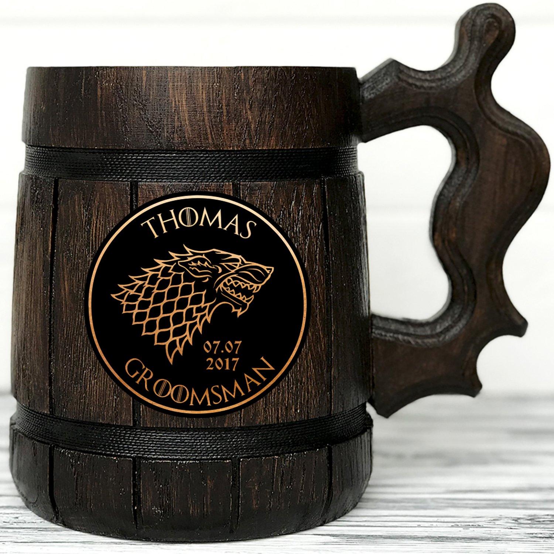 Nieuw Amazon.com: Game of Thrones Gifts/GoT/House Stark/Personalized PO-93