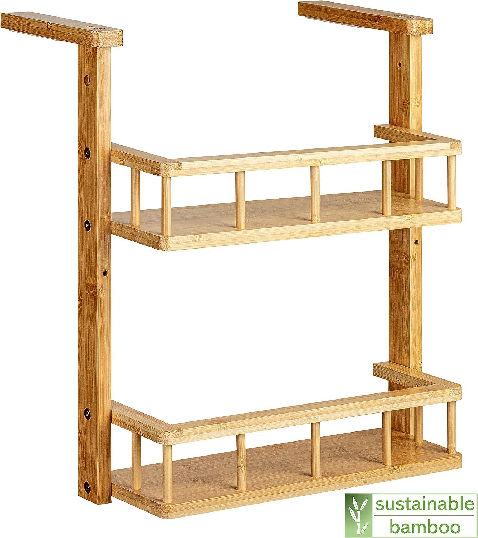 GreennModern - Estantería colgante para la cocina (madera de bambú): Amazon.es: Hogar