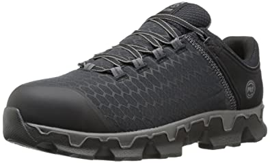Timberland PRO Men's Powertrain Sport Alloy Toe EH Industrial and  Construction Shoe, Black Synthetic,