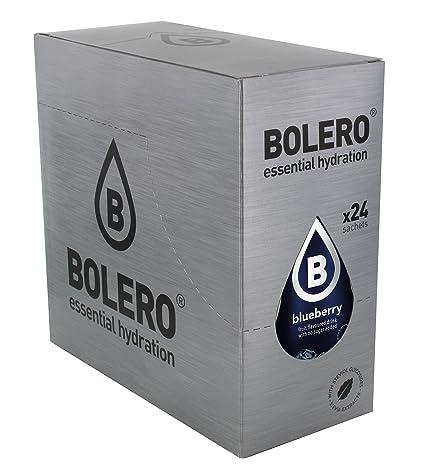 Bolero Bebida Instantánea sin Azúcar, Sabor Arándanos - Paquete de 24 x 9 gr - Total: 216 gr: Amazon.es: Salud y cuidado personal