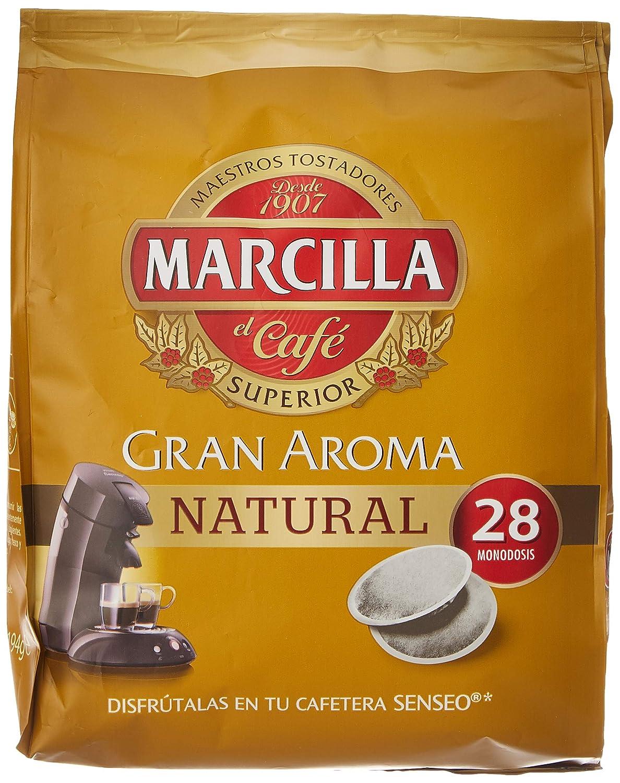 Marcilla - Café Molido de Tueste Natural - 28 Monodosis - 194 g ...