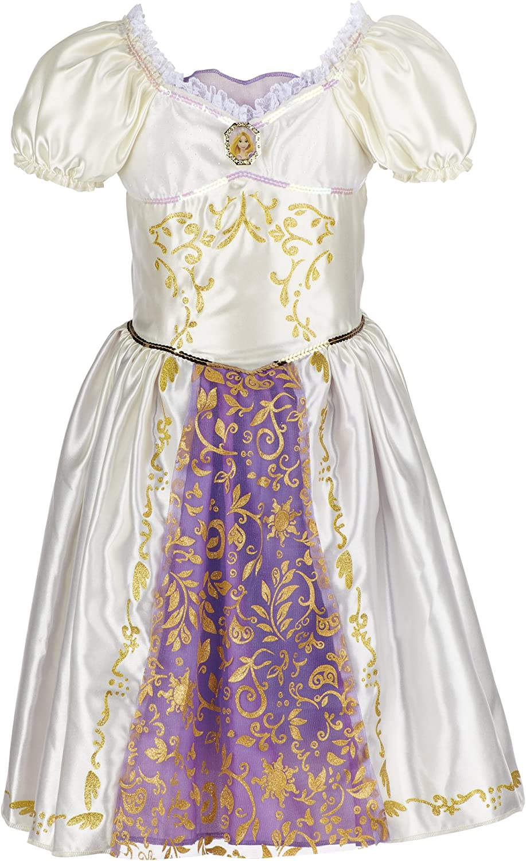 Amazon Com Disney Princess Rapunzel Wedding Dress Clothing