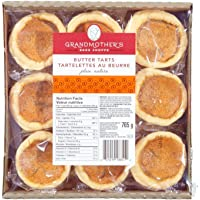 Grandmother's Bake Shoppe Plain Butter Tarts, 765g/27oz., {Imported from Canada}