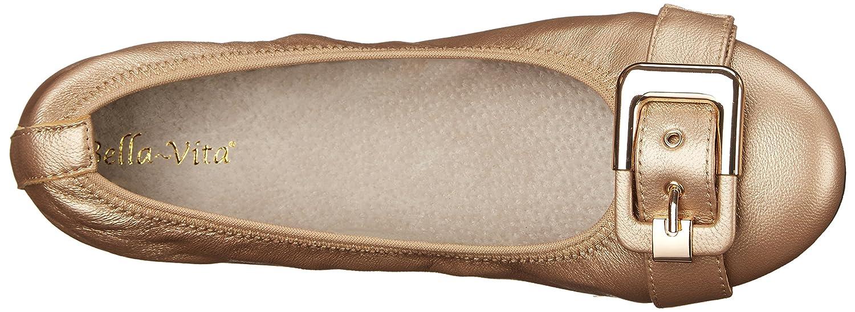 Bella Vita Women's Twirl Ballet Flat B00ZIDDCYA 11 B(M) US Rose Gold Leather