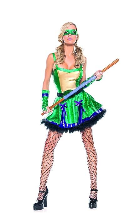 Amazon.com: Adult Womens Sexy Teenage Mutan Ninja Turtles ...