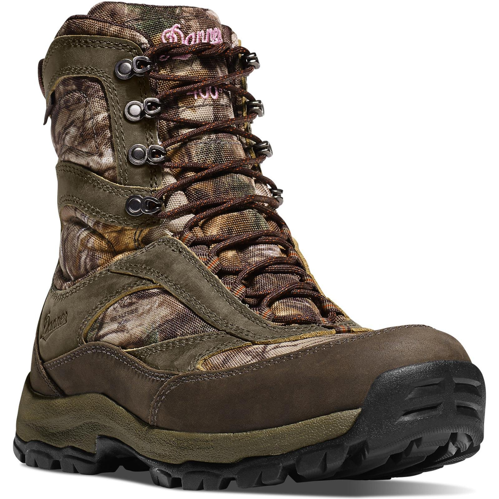 Danner Women's High Ground Realtree Xtra Hunting Boot,Brown/Green,9.5 M US