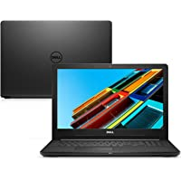 "Notebook Dell Inspiron i15-3567-U10P 6ª Geração Intel Core i3 4GB 1TB 15.6"" Linux"