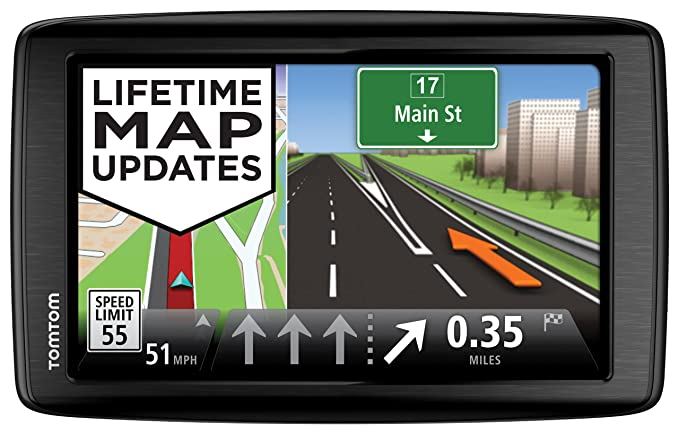 amazon com tomtom via 1605m gps navigator with lifetime maps rh amazon com TomTom at Walmart TomTom GPS 7 Inch