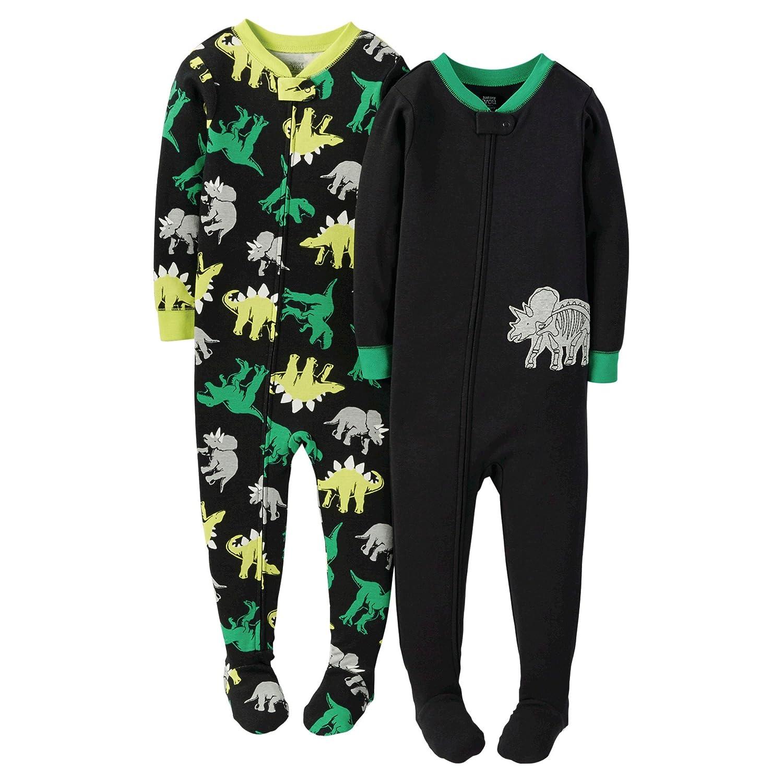 a4c87362fa0e Amazon.com  Carters Boys Footie Pajamas Sleeper Multi Pack (Many ...