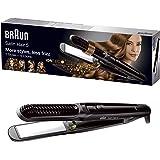 Braun Satin Hair 5 ST570 - Plancha de pelo, placa de cerámica, 4 estilos con rizador y tecnología iónica para potenciar…