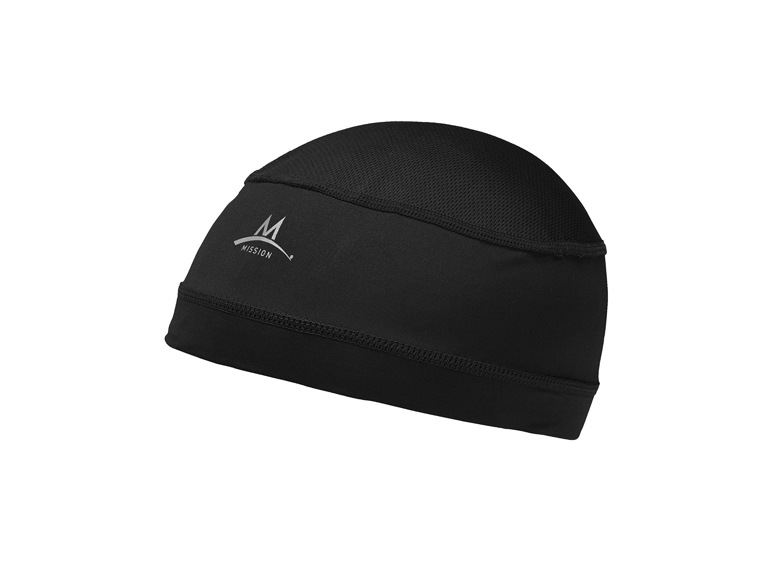 Mission Enduracool Cooling Helmet Liner, Black, One Size