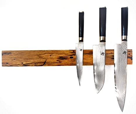 lacefix - Listón magnético para Cuchillos (Roble rústico ...
