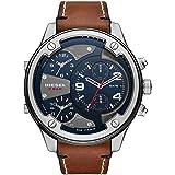 Diesel Men's Quartz Watch chronograph Display and Leather Strap, DZ7424