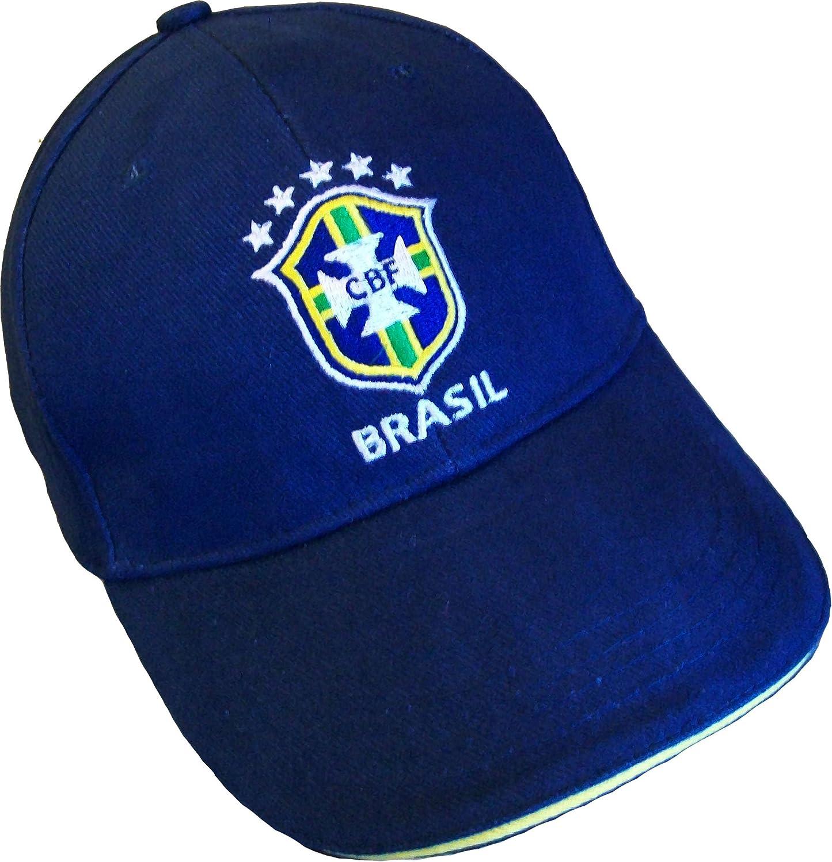 BRASIL-Gorra de la selección de fútbol de BRASIL-SELECAO: Amazon.es: Deportes y aire libre