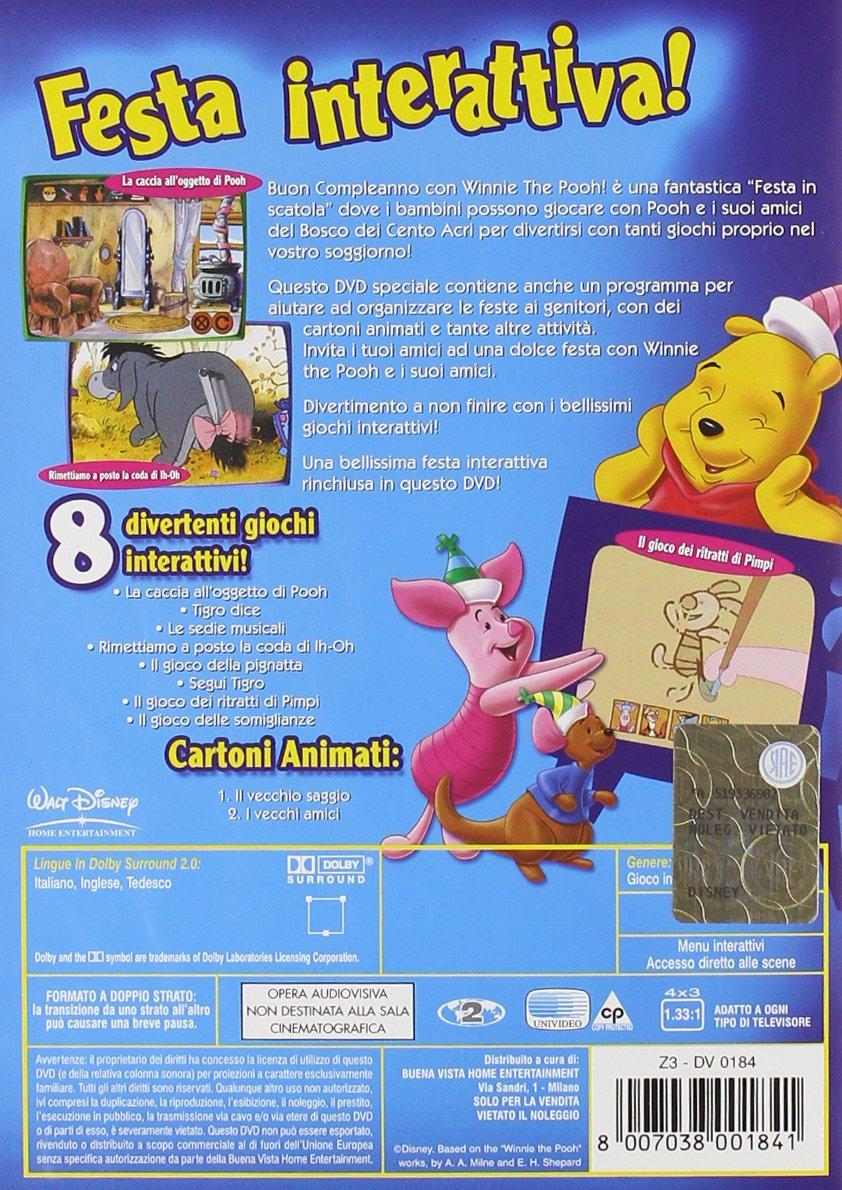 La Festa Di Compleanno Con Winnie The Pooh Amazon It Cartoni