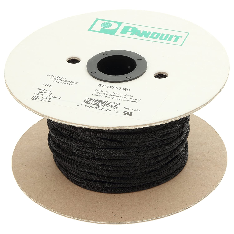 パンドウイット パンラップネットチューブ 標準タイプ SE100PS-CR0 1-Inch Diameter  B012IOT3T4