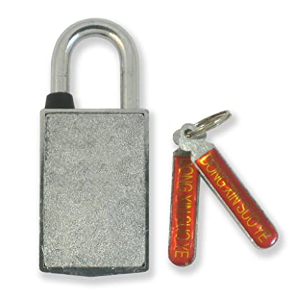 Magnetic Padlock Keyed Different - Candado Magnetico MADOL [920C] - - Amazon.com