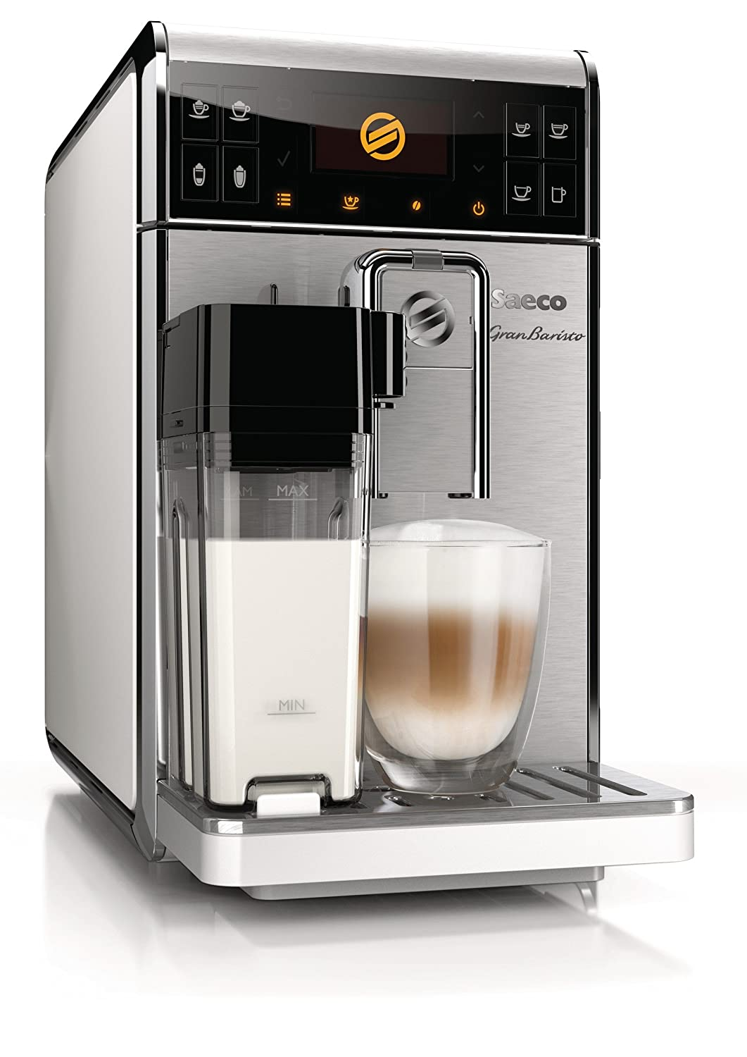 Saeco GranBaristo HD8966/01 - Cafetera (Independiente ...