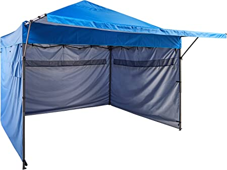 AmazonBasics - Carpa pop-up con paredes laterales, 3 x 3 m, azul ...