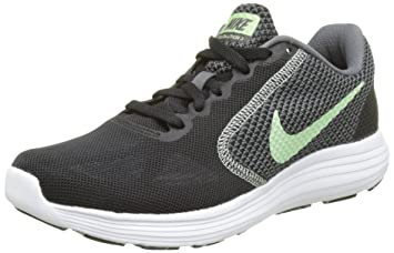 Nike Revolution 3, Chaussures de Running Femme, Noir (Black/Lava Glow/Hot Punch/Cool Grey), 37.5 EU
