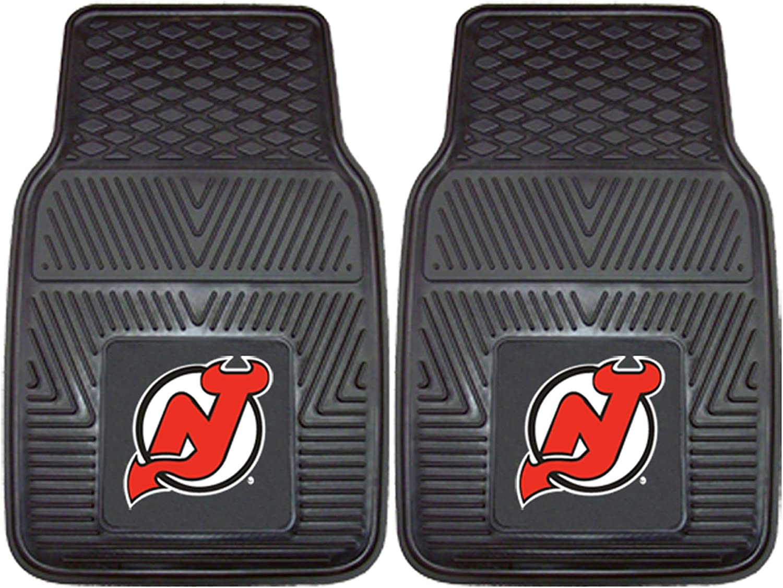 FANMATS NHL New Jersey Devils Vinyl Heavy Duty Car Mat