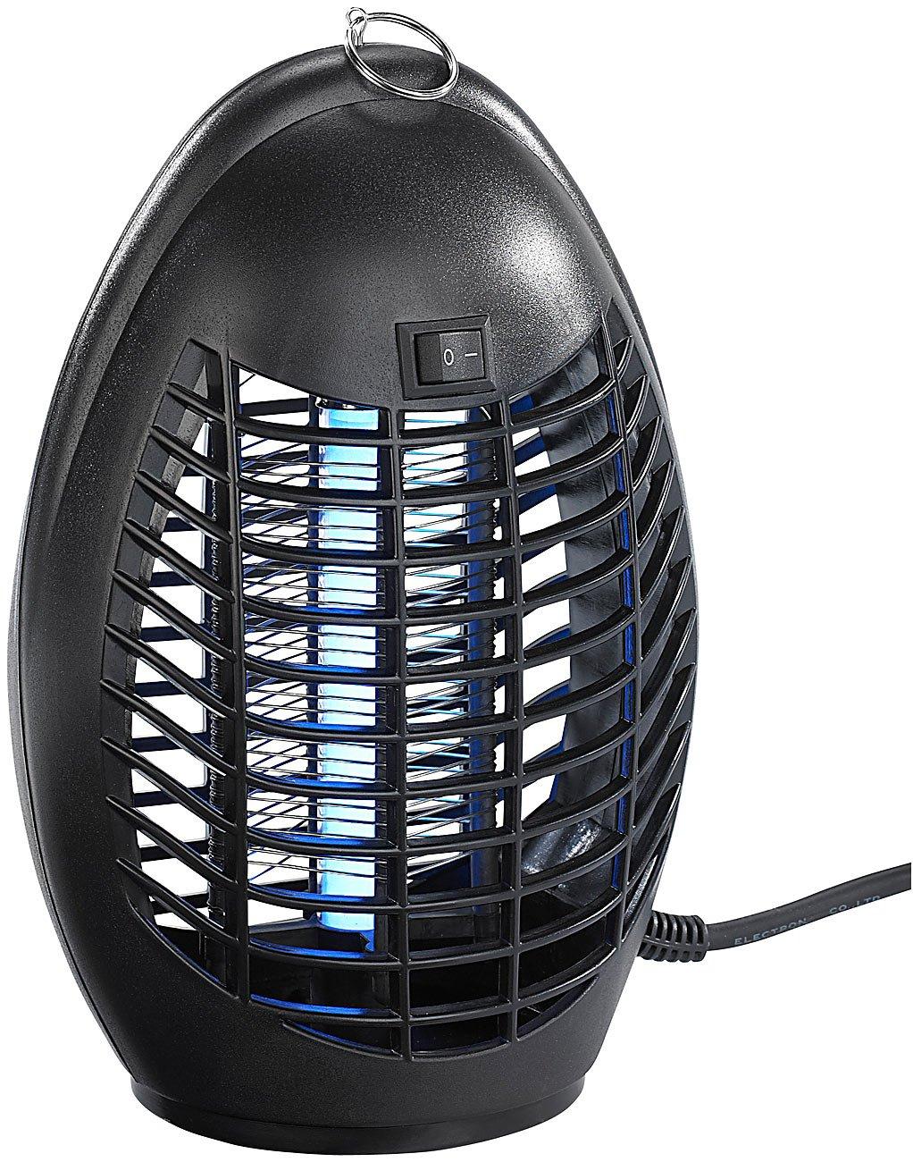 Exbuster Fliegenfalle: Hochwirksamer UV-Insektenvernichter IV-220 mit UV-A-Stabröhre, 4 Watt (Fliegentöter) 4 Watt (Fliegentöter)