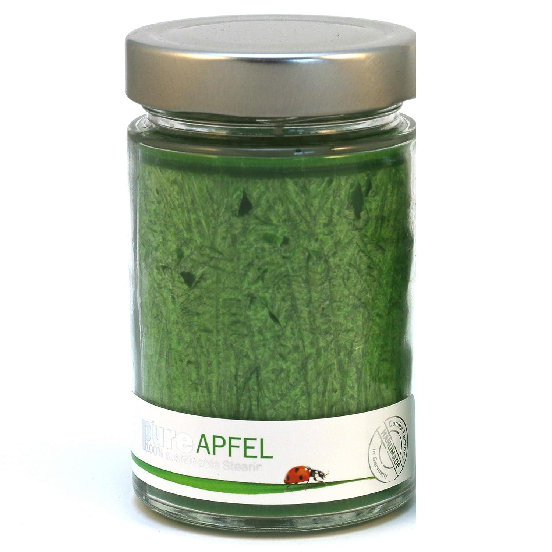 Candle Factory Pure-line Apfel Kerze groß Duftkerze Glaskerze Raumduft 509-002