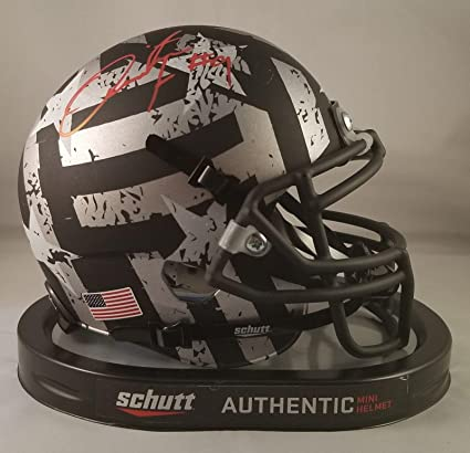 Image Unavailable. Image not available for. Color  Quinton Flowers  Autographed Signed Mini Helmet USF ... 4a18d9bb4