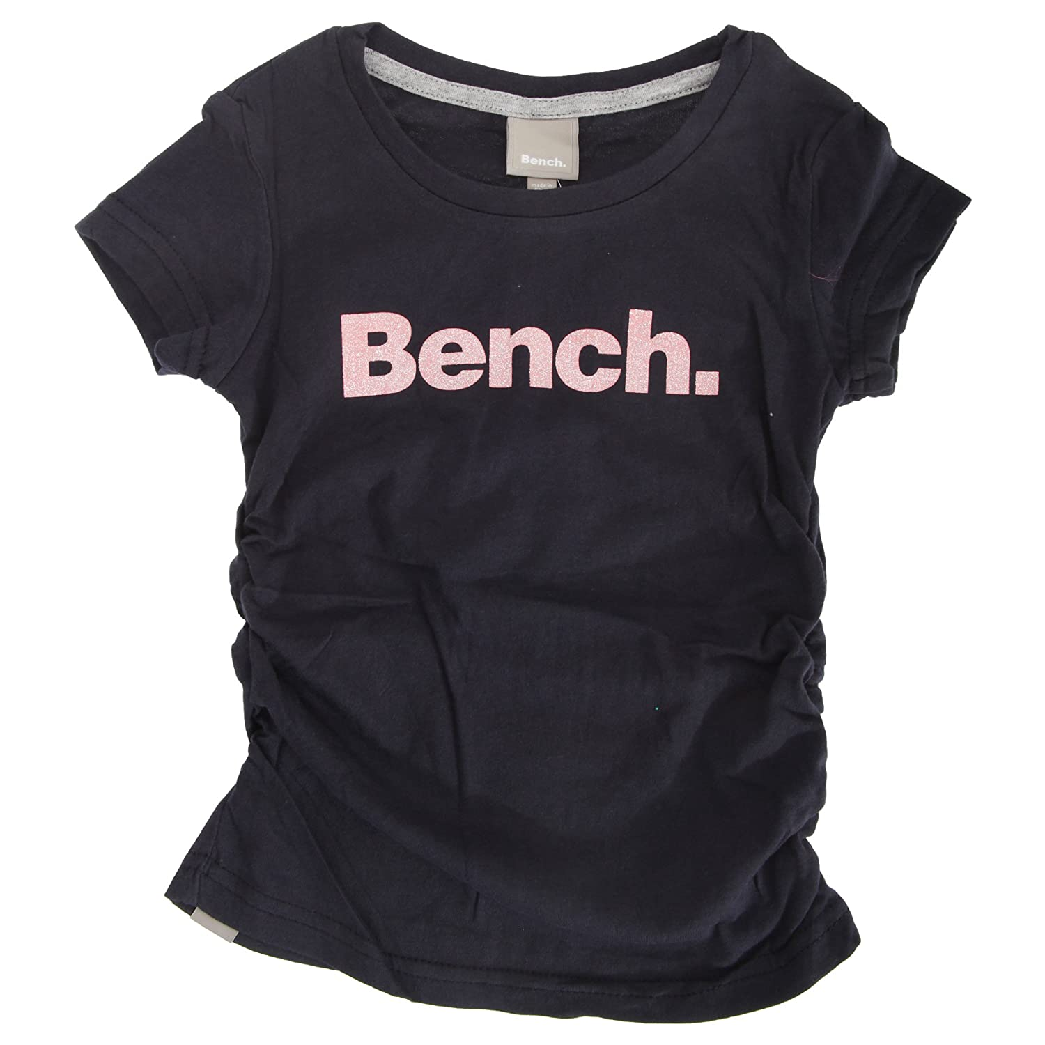 Bench Childrens Girls New Deckstar Short Sleeve Crew Neck T-Shirt