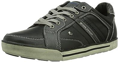 s.Oliver 13600, Herren Sneakers, Schwarz (BLACK COMB. 98),