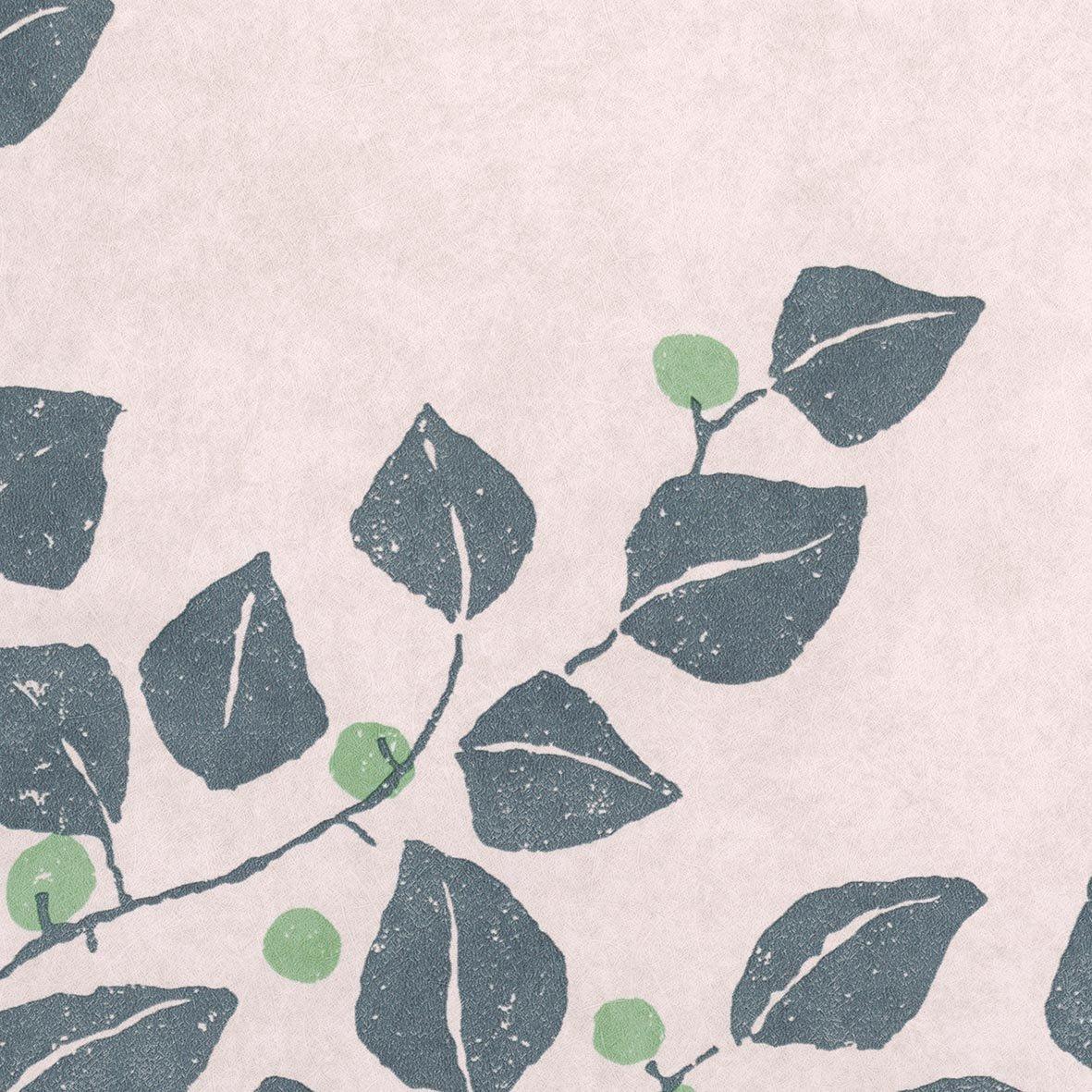 リリカラ 壁紙22m ナチュラル 花柄 パープル 竹久夢二の壁紙 Re;foRm LW-2520 パープル 22m 22mパープル B07612M6NV