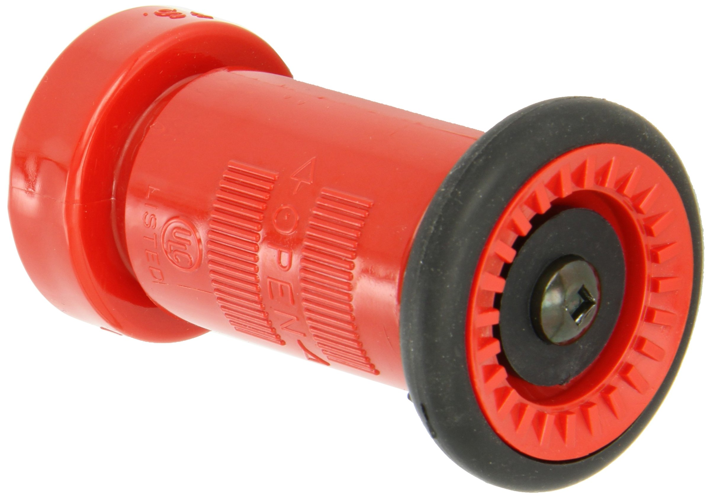 Spray Hose Nozzle: Moon 517-151 Polycarbonate Fire Hose Spray Nozzle 75 Gpm 1