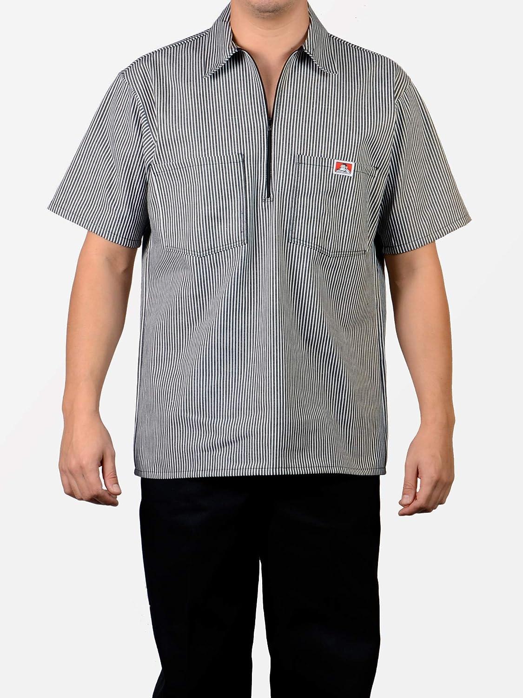 Ben Davis BDS - Camisa de trabajo para adultos, a rayas, Raya Negra (Black Stripe): Amazon.es: Deportes y aire libre