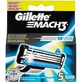 Gillette Mach 3 Ricarica - 5 Pezzi